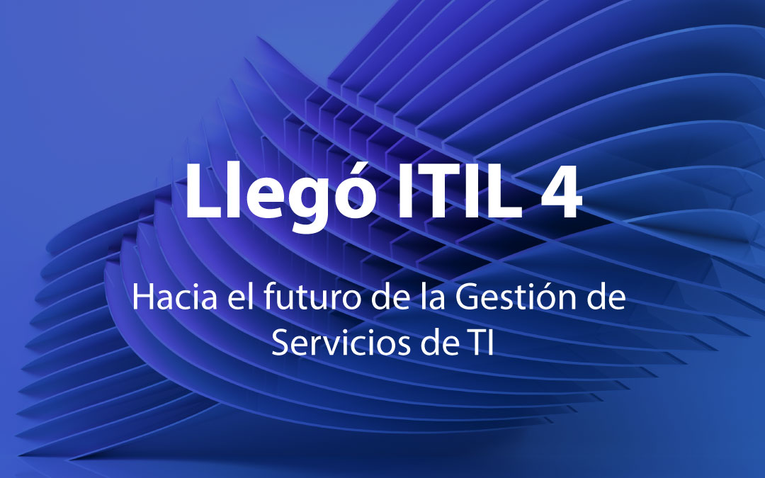 Descubra ITIL 4 en  5 pasos