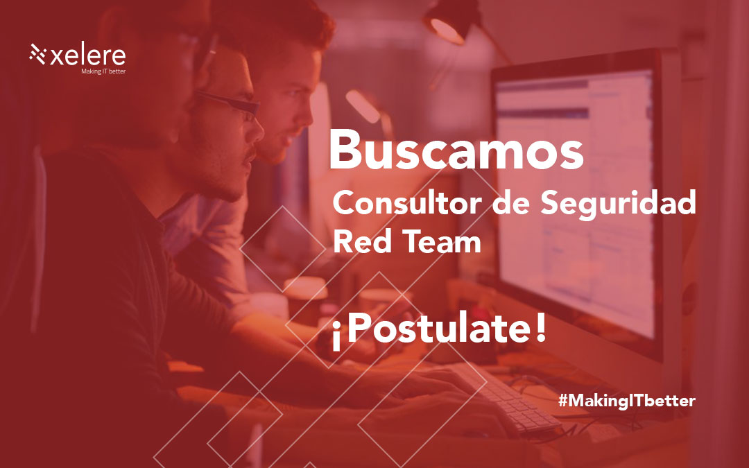 Consultor de Seguridad – Red Team