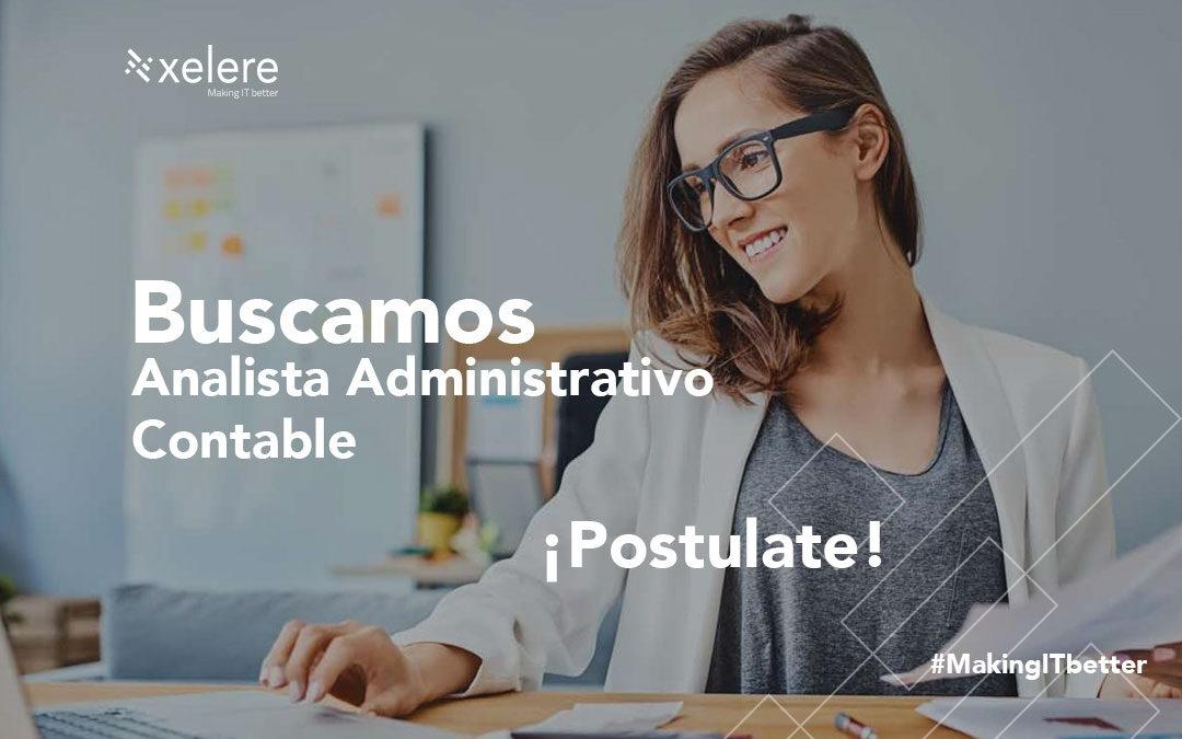 Analista Administrativo Contable